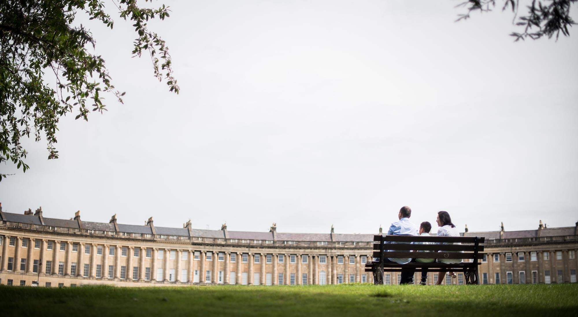 Bath Family Photoshoot at the Royal Crescent