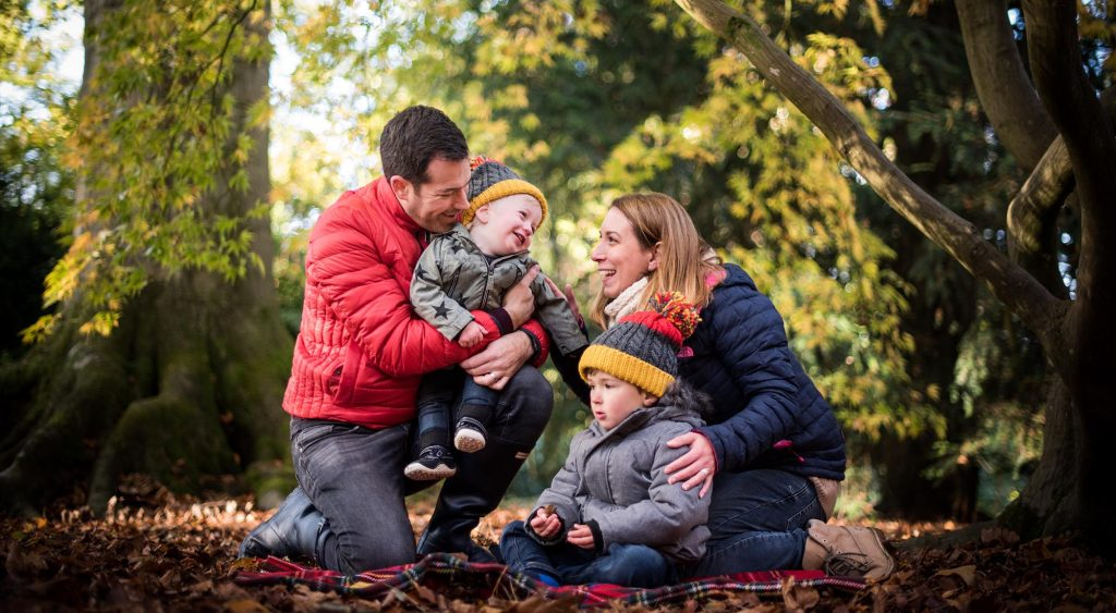 Family Photo Shoot Westonbirt