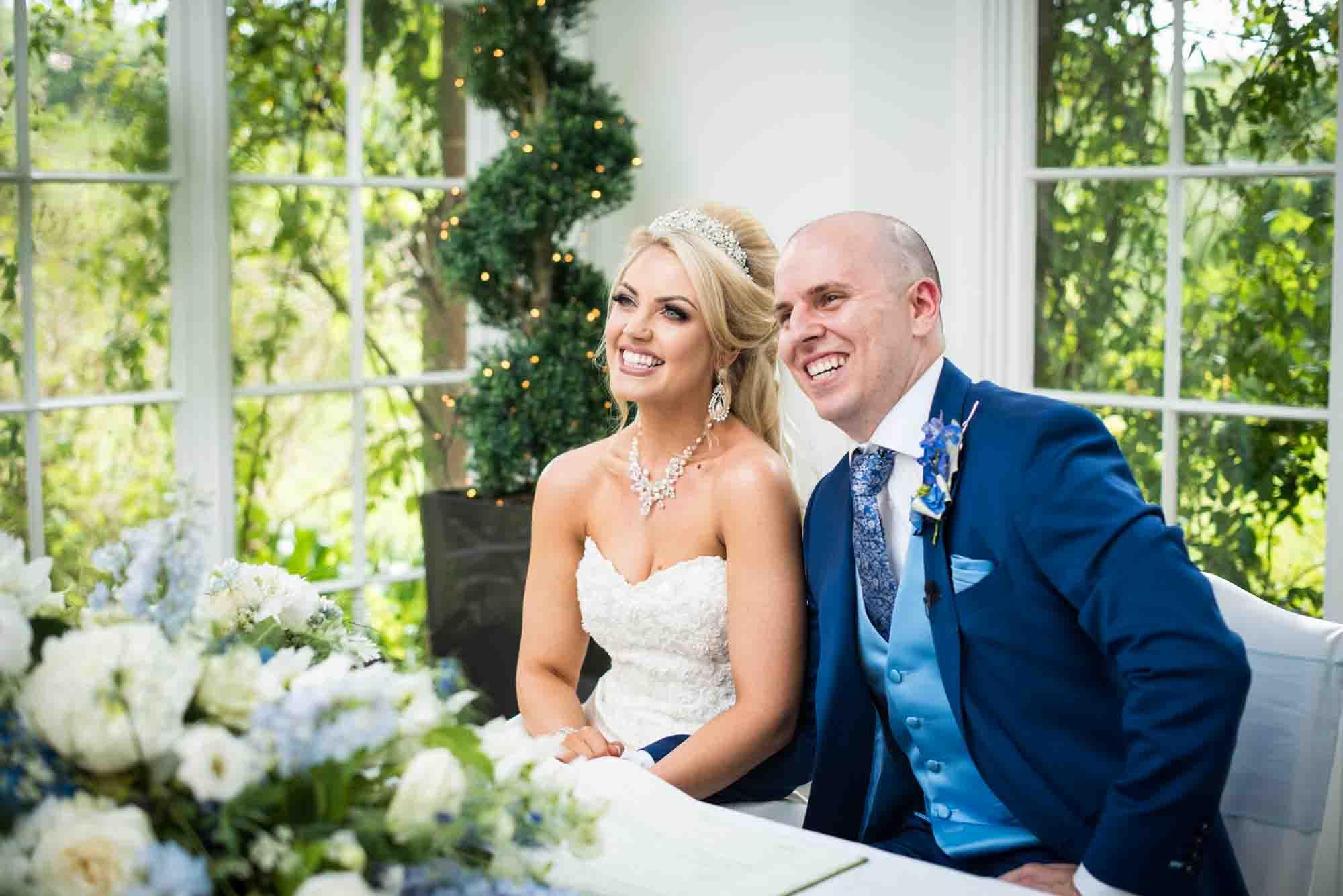 St Audries Park Wedding – Maria & Joe