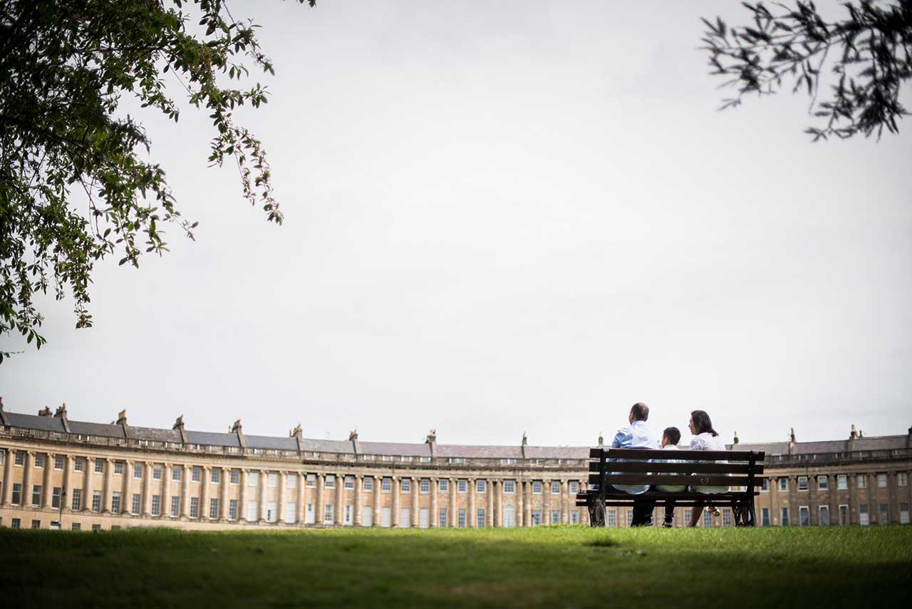 Family Photographer Bath – Photoshoot at The Royal Crescent