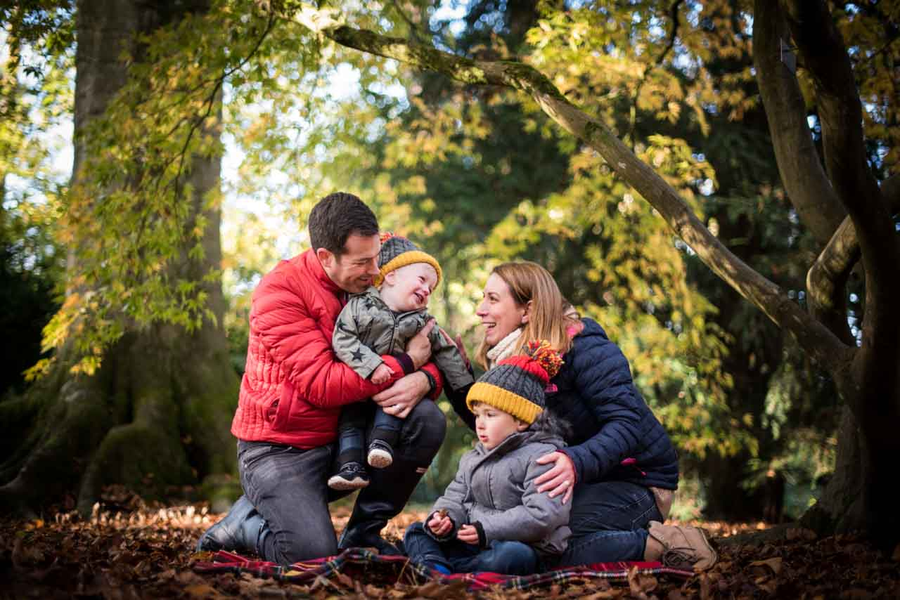 Autumn Family Photo Shoot at Westonbirt Arboretum